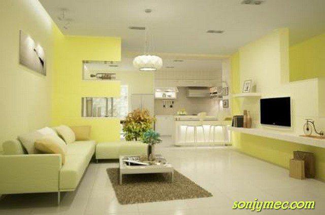 chọn lựa sơn phù hợp với ngôi nhà xinh