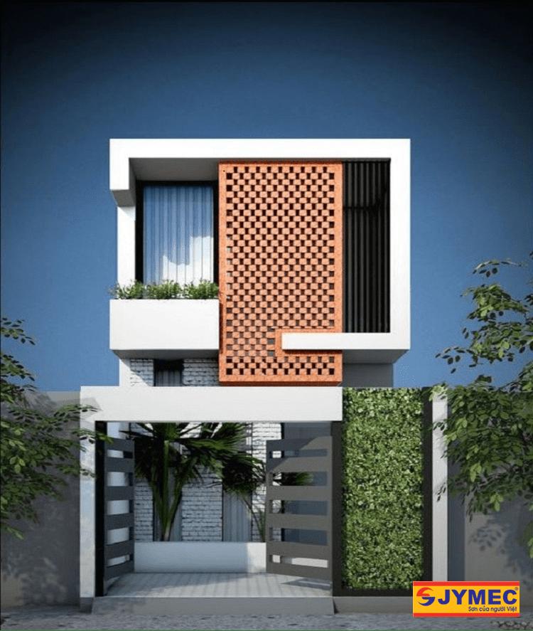 xây nhà 2 tầng mái bằng giá 700 triệu