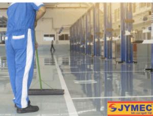 hướng dẫn vệ sinh sàn epoxy