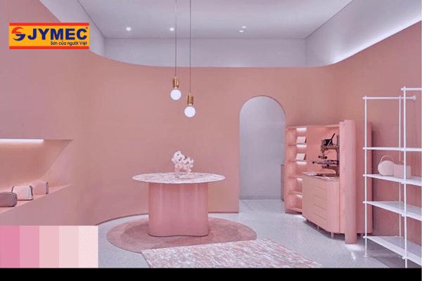 màu sơn để thiết kế cửa hàng