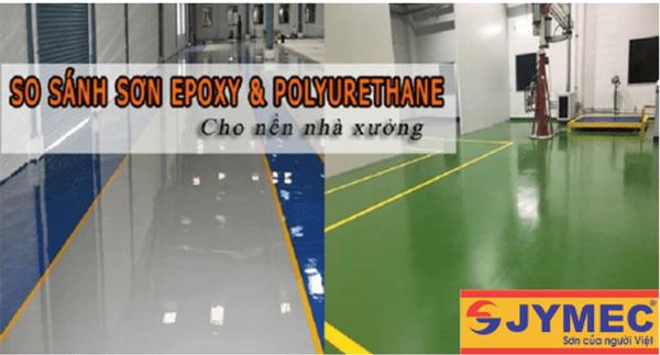 so sánh sơn epoxy và sơn PU