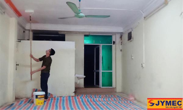 lưu ý khi tự sơn nội thất